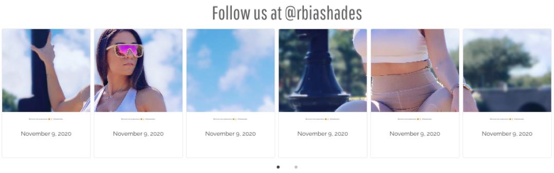 Instagram Feed Rbia Shades